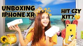 iPhone XR - UNBOXING  💛📱 / samosiaa