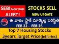 Investors ALERT! SEBI NEW RULE on stock selling, 7 housing stocks, stock market weekly update