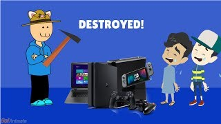 Parents Destroys Kids Electronics Compilation #1