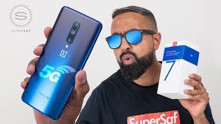 OnePlus 7 Pro 5G - Unboxing & SPEED Test