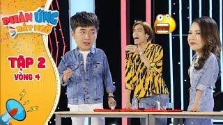 Phản ứng bất ngờ Tập 2 Vòng 4: Ngô Kiến Huy, Sam XUÝT XOA với màn UỐNG NƯỚC MẮM của Dương Thanh Vàng