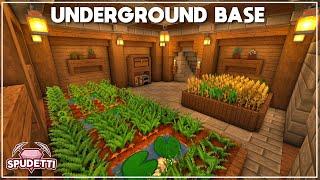 Minecraft: How to Build an Underground Base [Tutorial] 2020