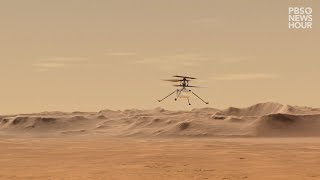 How NASA plans to fly a helicopter on Mars