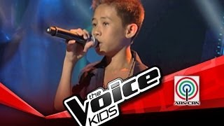 """The Voice Kids Philippines Blind Audition """"Mula sa Puso"""" by Junmark"""