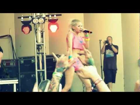 Lollapalooza - Die Antwoord - Baby's on Fire (Live) HD