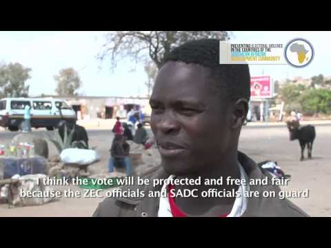 PEV-SADC project: Voices of the people before the elections