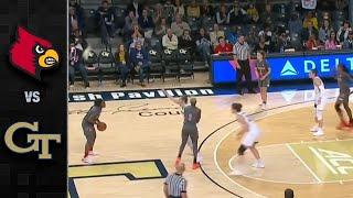 Louisville vs. Georgia Tech Women's Basketball Highlights (2019-20)
