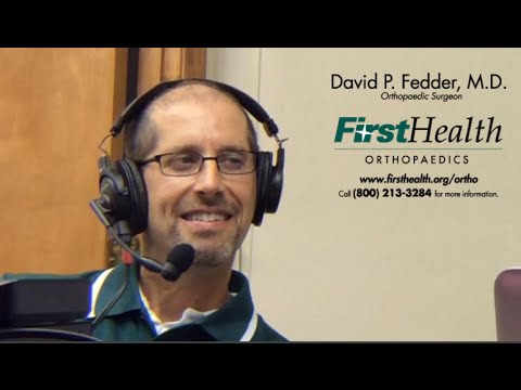 David Fedder M.D., FirstHealth Orthopaedics