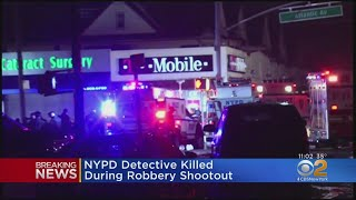 NYPD Detective Killed In Queens Robbery