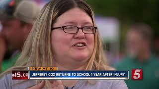 Paralyzed Houston County teen reflects on football injury one year later