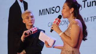 Sơn Tùng xuất hiện bảnh bao, ra dáng giám đốc ký hợp đồng với Miniso