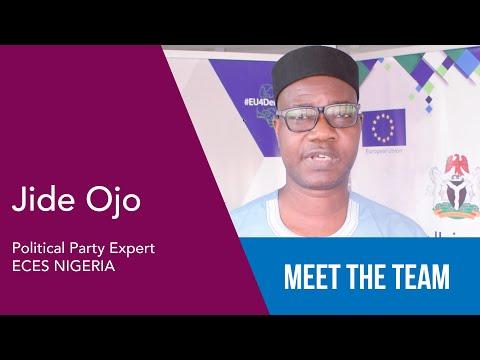 Jide Ojo - Political Party Expert - ECES Nigeria