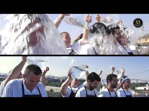 """El equipo de Bodegas Mezquita participamos en la campaña """"ice bucket challenge"""""""