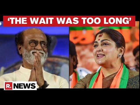 BJP leader Khushbu Sundar hails Rajinikanth's political entry