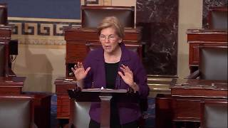 Senator Elizabeth Warren on the Republican tax bill passing Congress