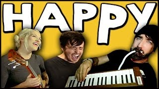 HAPPY - Walk off the Earth Ft. Parachute