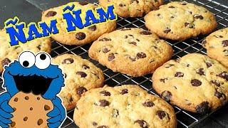 Cookies gigantes con chips chocolate. La receta más fácil. (También SIN GLUTEN)