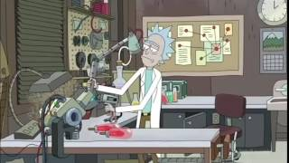 Rick tries to kill himself -  Rick and Morty.