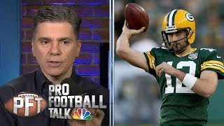 Mahomes, Rodgers, Wilson: Quarterbacks to give a blank check | Pro Football Talk | NBC Sports