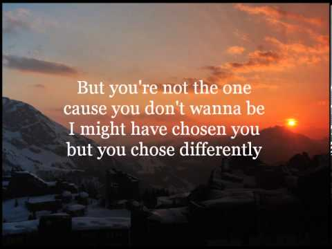 You're Not the One - Chester See (Lyrics)
