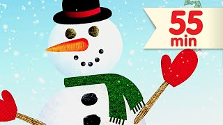 I'm A Little Snowman + More | Kids Songs Collection | Super Simple Songs - YouTube