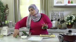 تورتة كنافة بالكريمه - دجاج بدبس الرمان - سلطة زبادي بالخيار - نجلاء الشرشابي - اكلات رمضانية مصرية