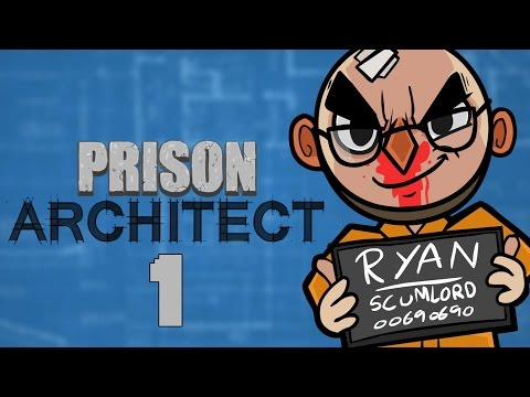 Prison Architect (Alpha 25) - Northernlion Plays - Episode 1 [Design]