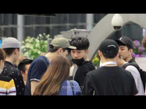 [Fancam] 170610 Kasper Kim Taewoo (김태우) @SuvarnabhumiAirport (BKK)