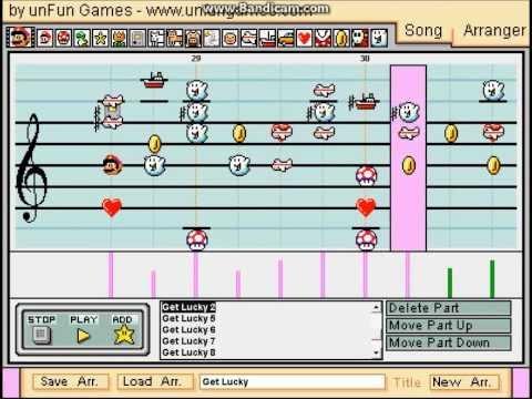 Baixar Get Lucky - Mario Paint Composer - Daft Punk