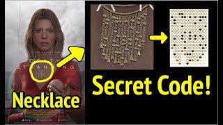 Death Stranding: Hidden Necklace Code in Lindsay Wagner Poster