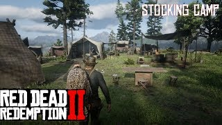 How To Stock Camp In Red Dead Redemption 2