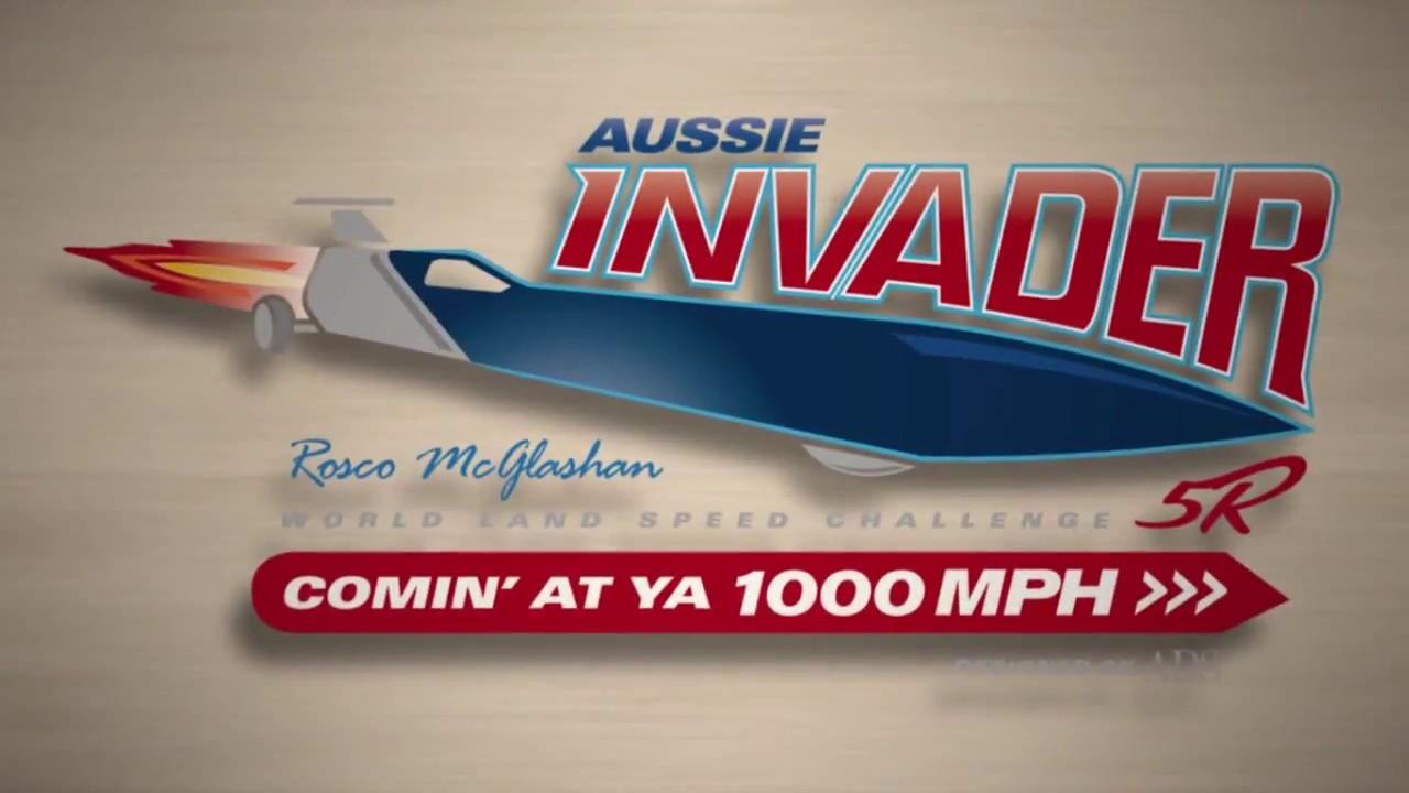 Aussie Invader 5R - Rocket Land Speed Record Car