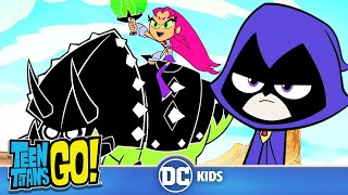 Teen Titans Go! | Who Is The Toughest Titan? | DC Kids