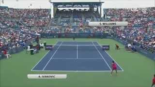 Serena Williams vs Ana Ivanovic, Cincinnati Open 2014 (Finale), highlights HD