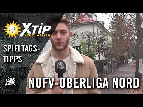 XTiP Spieltagstipp mit Luis Zwick (Dundee United) - 13. Spieltag, NOFV-Oberliga Nord | SPREEKICK.TV