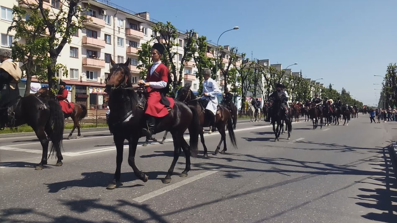 Нальчик: шествие памяти жертв Кавказской войны