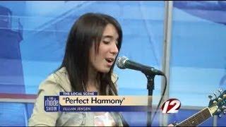 X Factor's Jillian Jensen performs