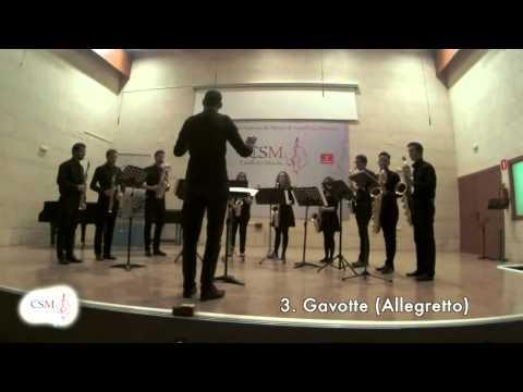 Suite Holberg. Eduard Grieg. Ensemble Saxofones CSMCLM