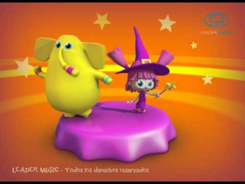 La Brujita Tapita  - Rondas y Canciones Infantiles 3D