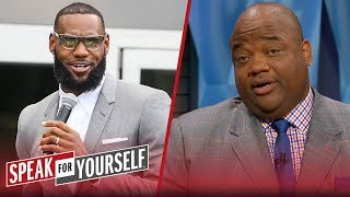 Jason Whitlock: LeBron 'made a complete and utter fool of himself' on HBO   NBA   SPEAK FOR YOURSELF