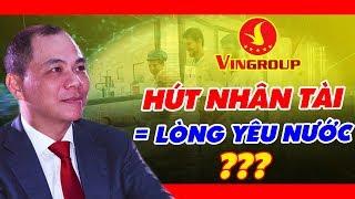 Tỷ Phú Phạm Nhật Vượng Thu Hút Người Tài Bằng Cách Nào?   PV Chủ Tịch Vingrouop (Phần 1)