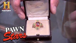 Pawn Stars: 19th Century Roman Catholic Cardinal Ring (Season 7) | History