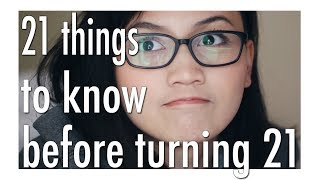 21 Things To Know Before Turning 21 | Bash Harry