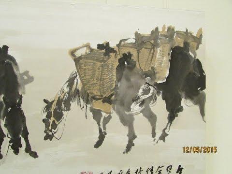 李奇茂大師水墨新思維書畫展-九十飛揚•百年輔仁-於台北中正紀念堂