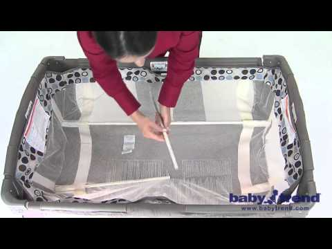 Baby Trend Playard Assembly Videomoviles