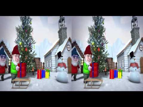 Sky 3D Italy Christmas Ident 2012 King Of TV Sat