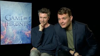 """Game of Thrones"" Season 7 interview with Aidan Gillen & Pilou Asbaek"