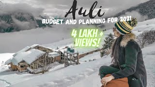 Auli Trip | Travel Guide and Budget | Full Vlog | 4K UltraHD | Feb 2019 | Tips |