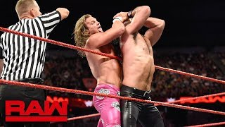 Seth Rollins vs. Dolph Ziggler - Intercontinental Championship Match: Raw, June 18, 2018