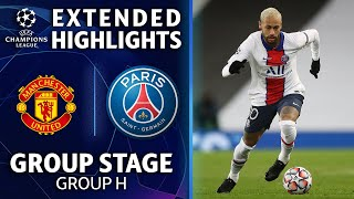 Manchester United vs. Paris Saint-Germain: Extended Highlights | UCL on CBS Sports